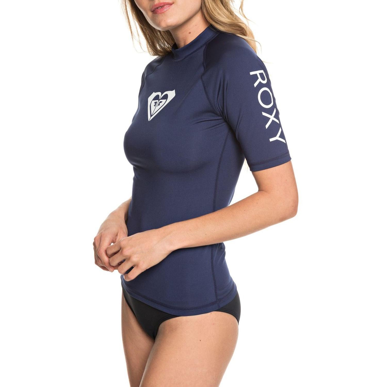 b587ea3ca1 Roxy Whole Hearted Short-Sleeve Rashguard - Women's | evo