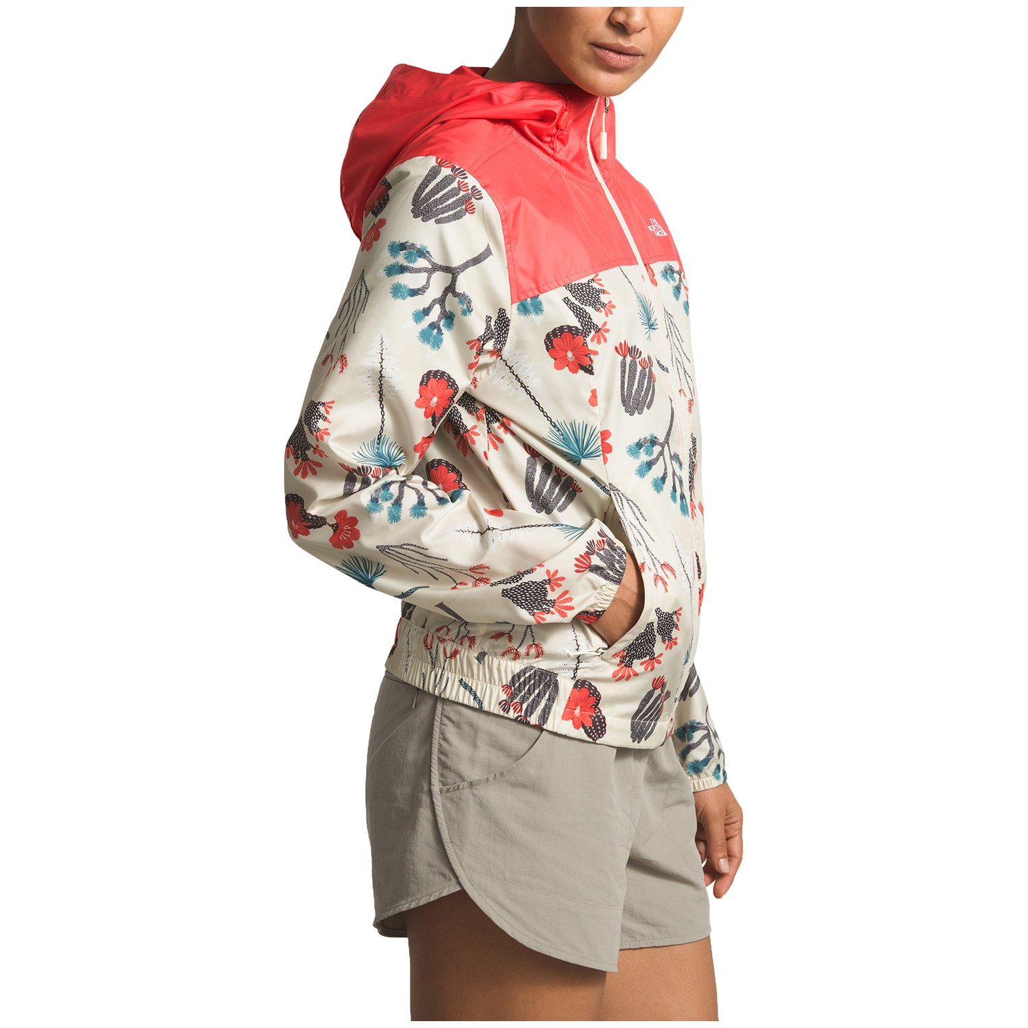 ad72450bb The North Face Printed Cyclone Windbreaker Jacket - Women's