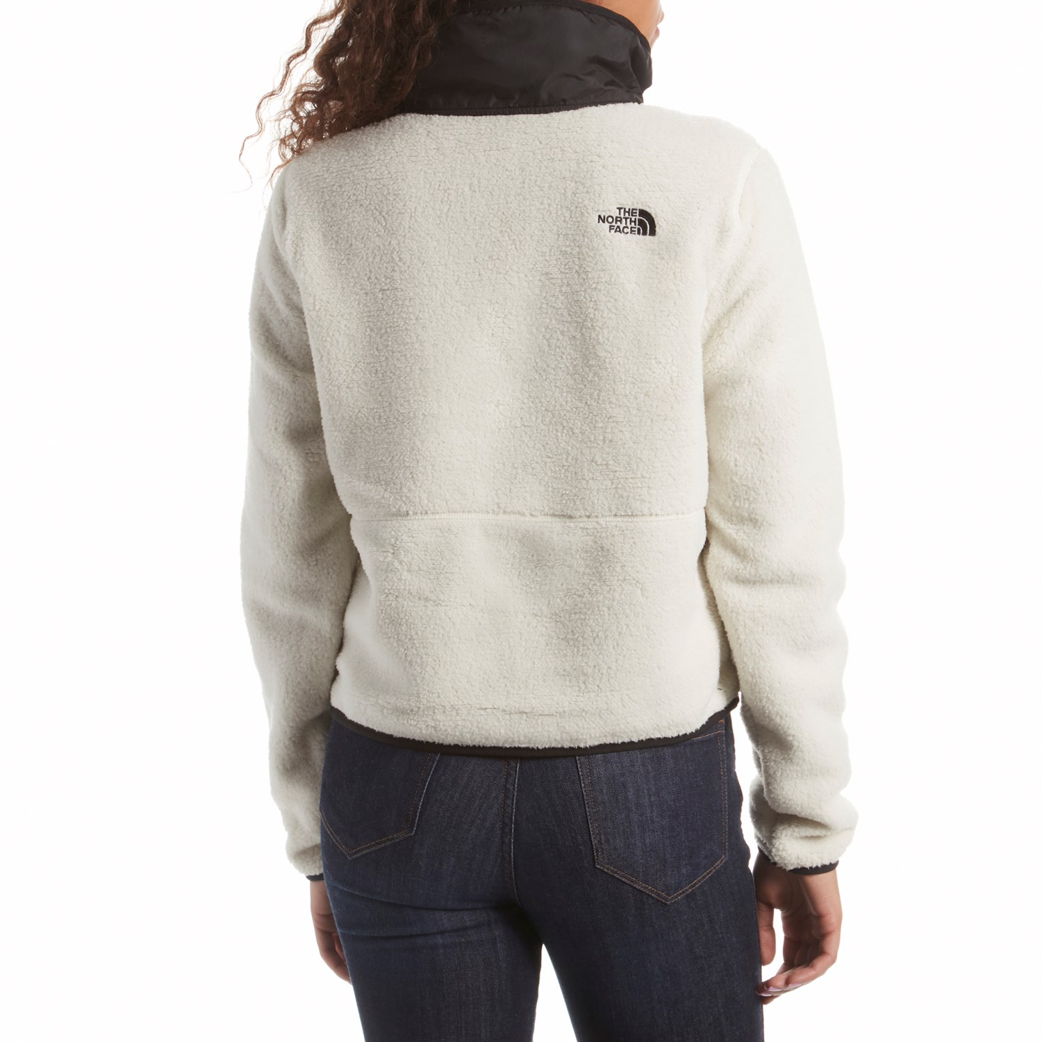 The North Face Dunraven Sherpa Crop Jacket Women S Evo