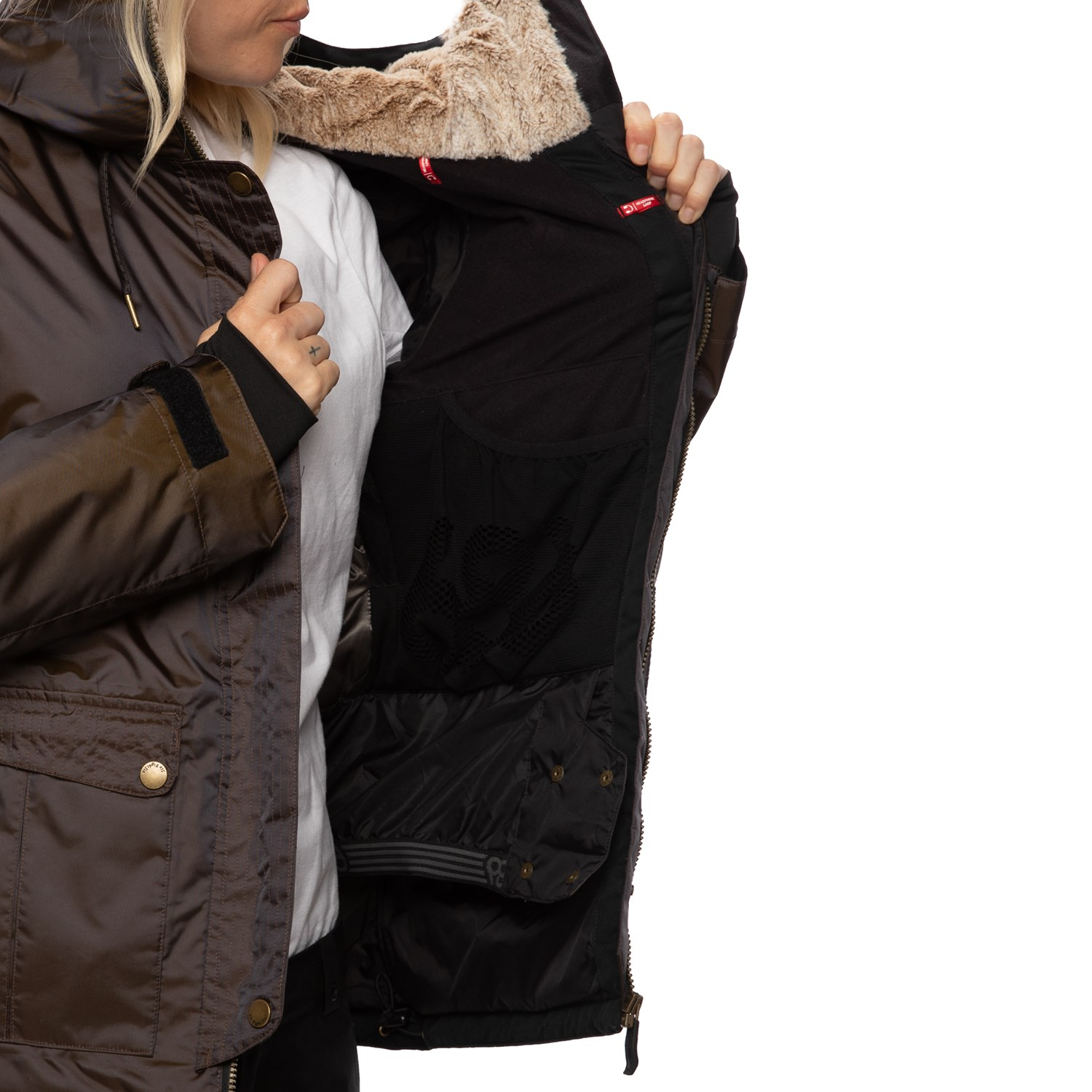 Details about  /Womens 686 Treasure Insulated Jacket Size Large