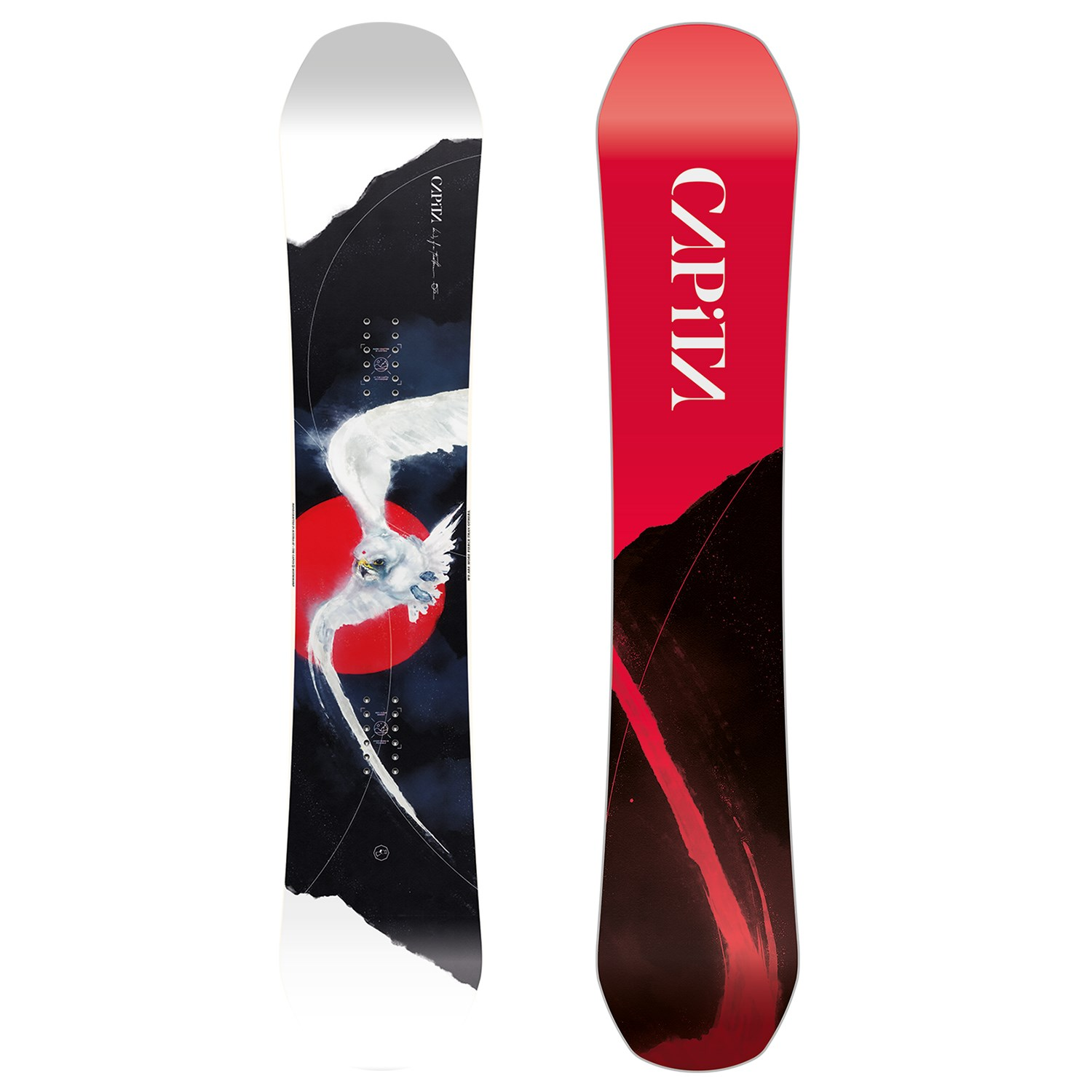 Capita Birds Of A Feather Snowboard Women S 2021 Evo