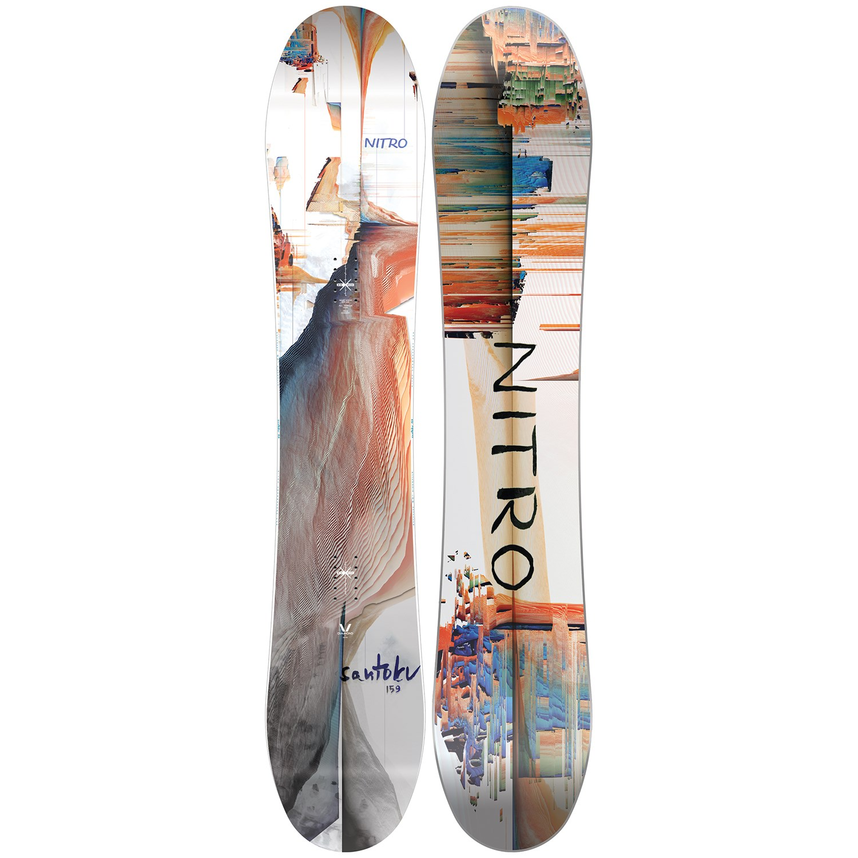 Nitro Santoku Snowboard 2021 Evo