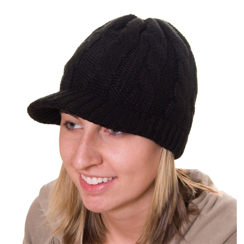 2321df59c93558 Visor Beanie For Women