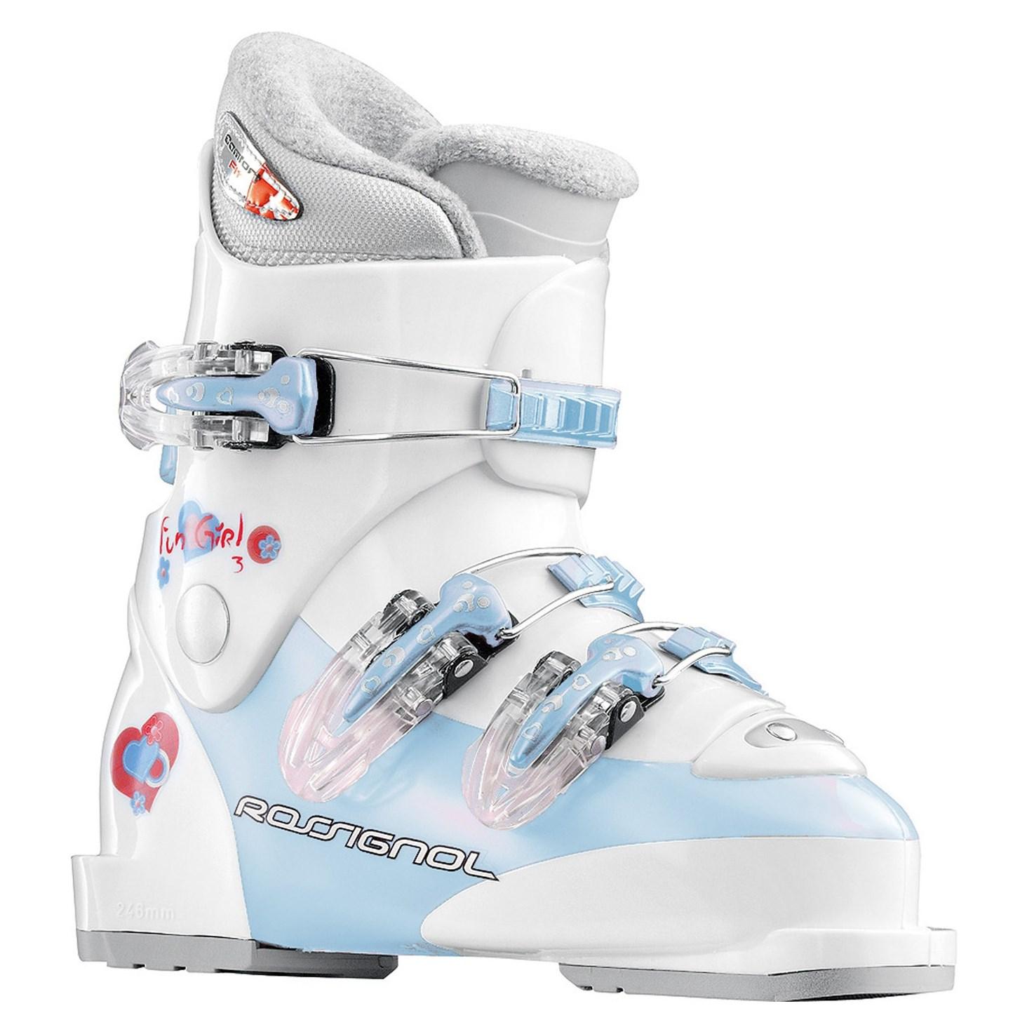 Rossignol Fun Girl J3 Ski Boots Youth 2009 | evo