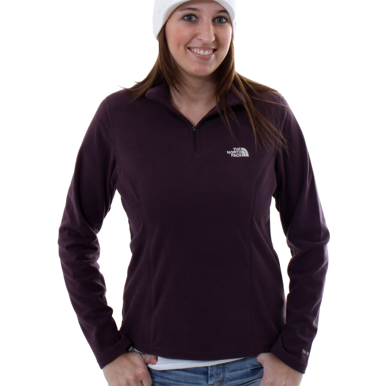 09bbb6e042 The North Face TKA 100 Glacier 1 4-Zip Top - Women s