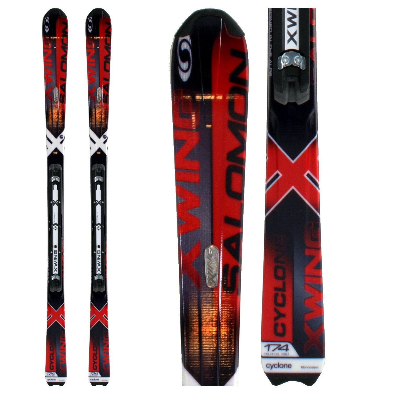 Salomon X Wing Fury Skis + Salomon Z12 Ti Bindings 2008