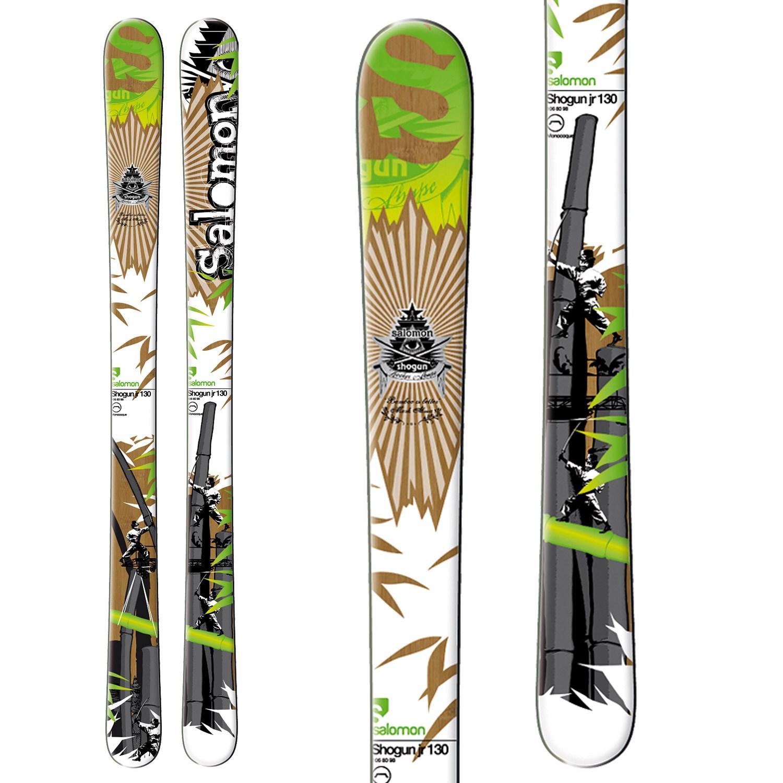 Salomon Shogun JR 130   SOLD   Skiing Skis   SidelineSwap