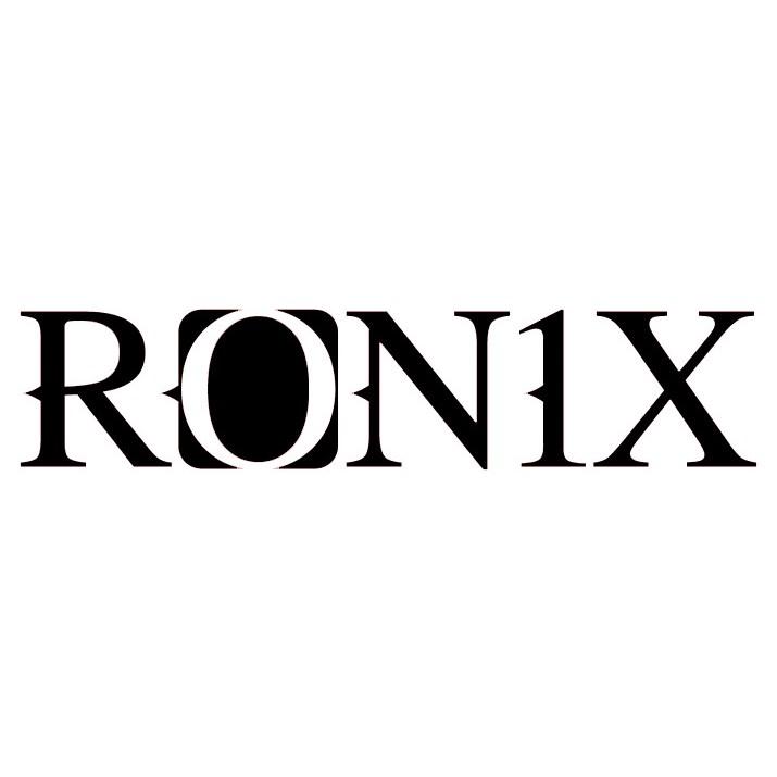 Ronix logo 2 5 x 9 die cut sticker