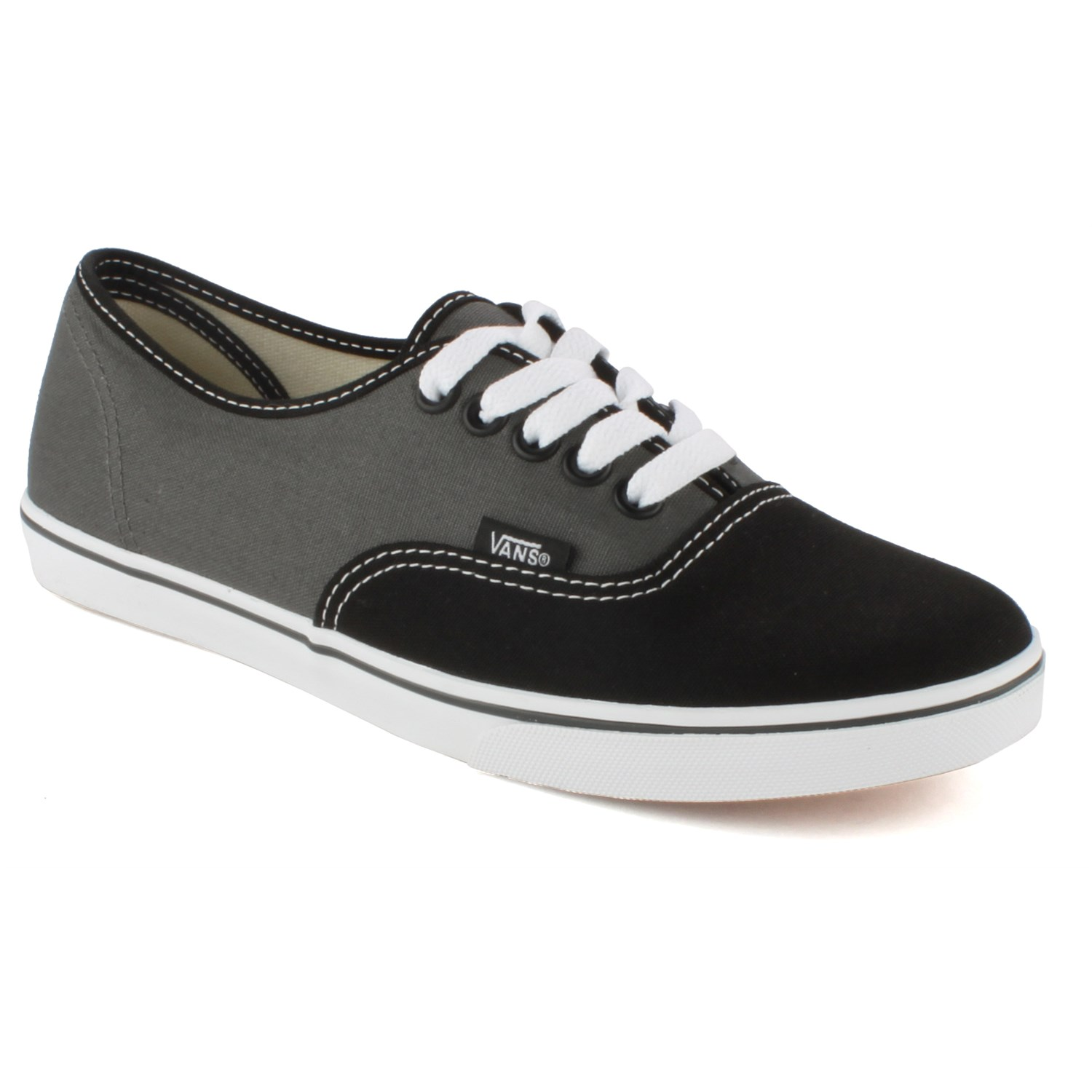 grey authentic lo pro vans  UP to 79% off ed497d38b