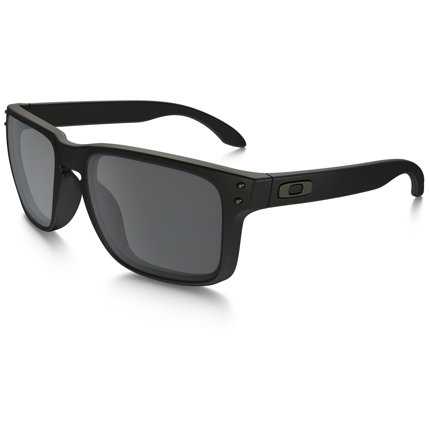 oakley holbrook matte black vs polished black