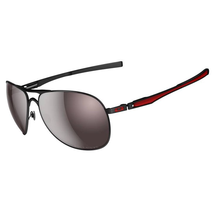 black and red oakley sunglasses 0te9  Oakley Wingspan Clip On Sunglasses