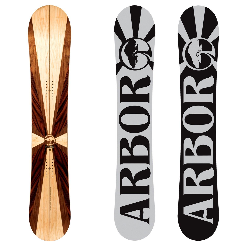 Arbor A-Frame Snowboard 2012   evo