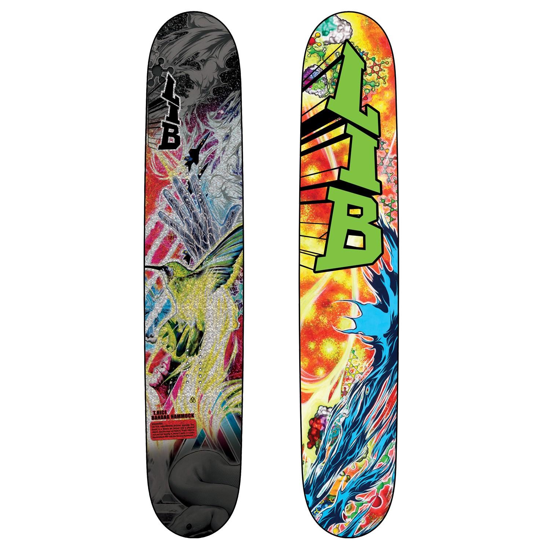 lib tech t rice banana hammock tttr hp snowboard 2012   evo  rh   evo