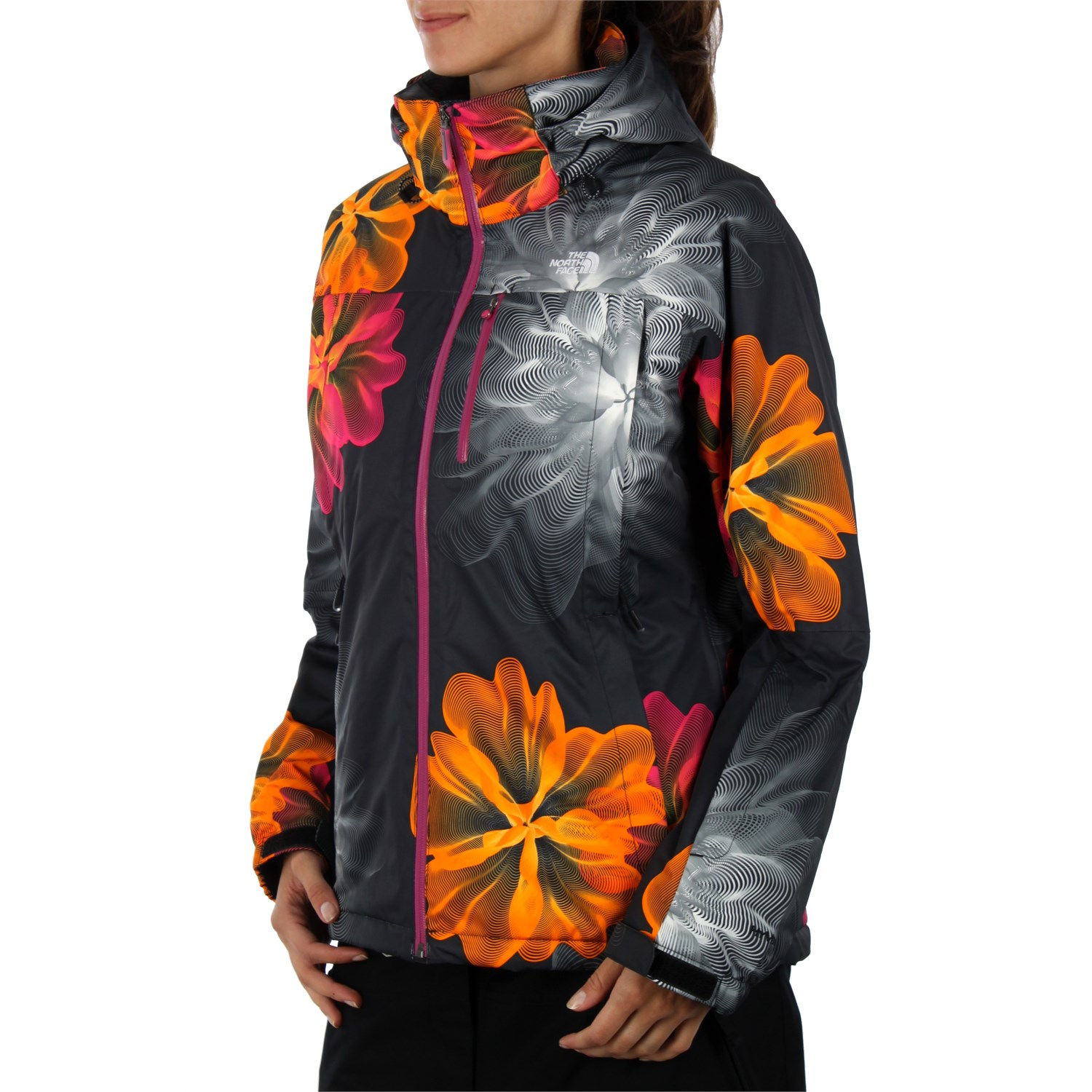5d628a3396 The North Face Snow Cougar Print Jacket - Women s