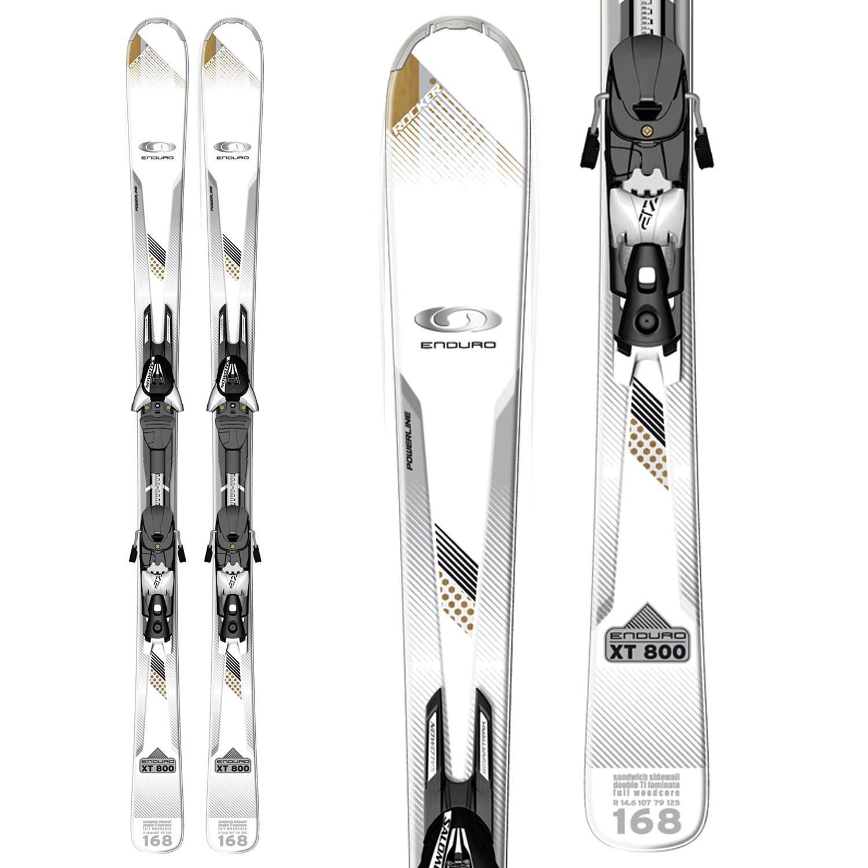 Salomon Enduro XT 800 Skis + Z12 Bindings 2012