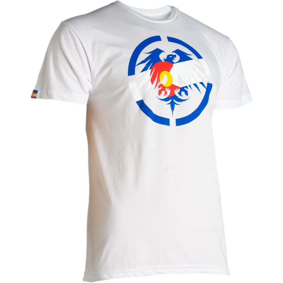 668afd88dfec Never Summer Colorado Eagle T Shirt
