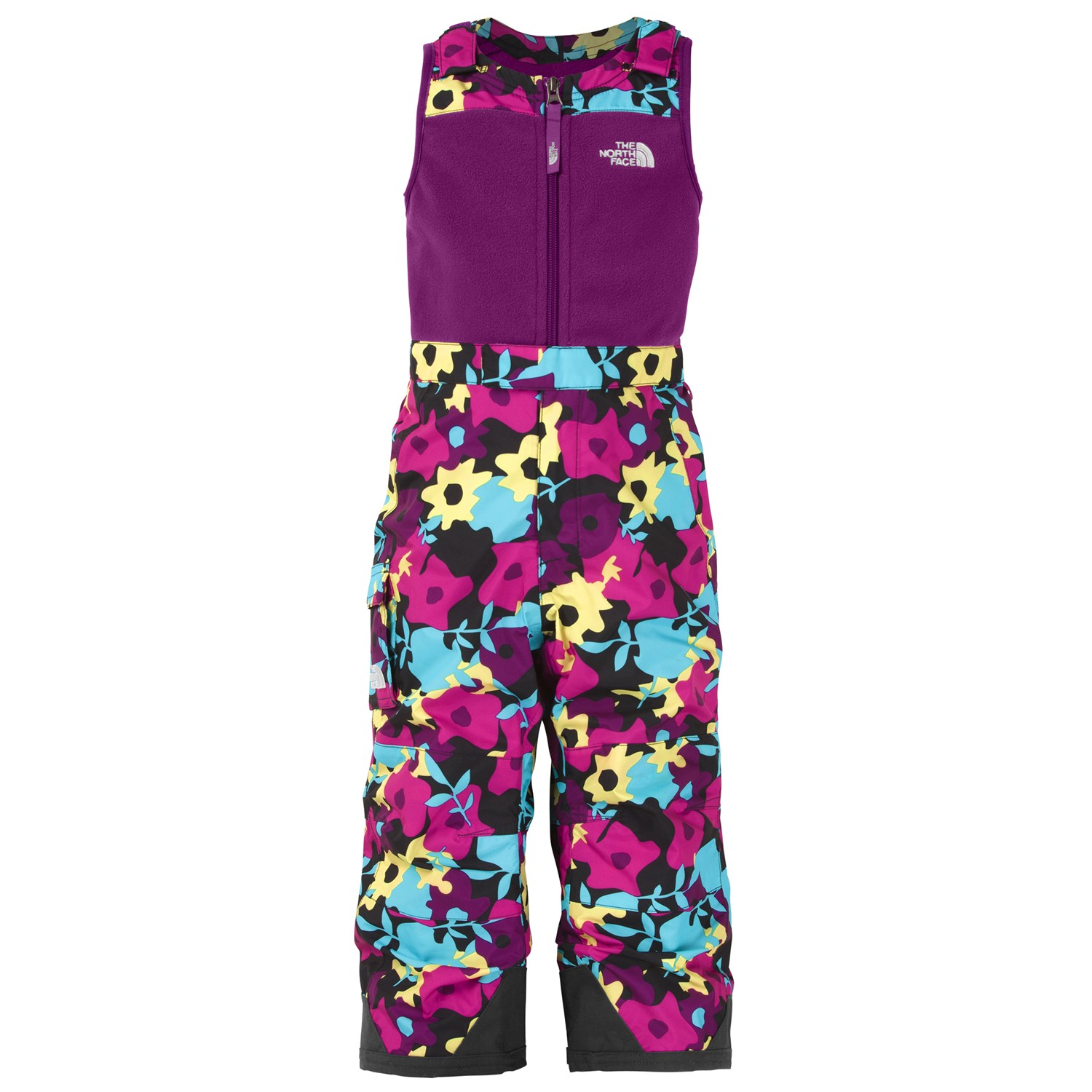3b2c86c20c61a The North Face Snowdrift Insulated Bib Pants - Toddler - Girl s