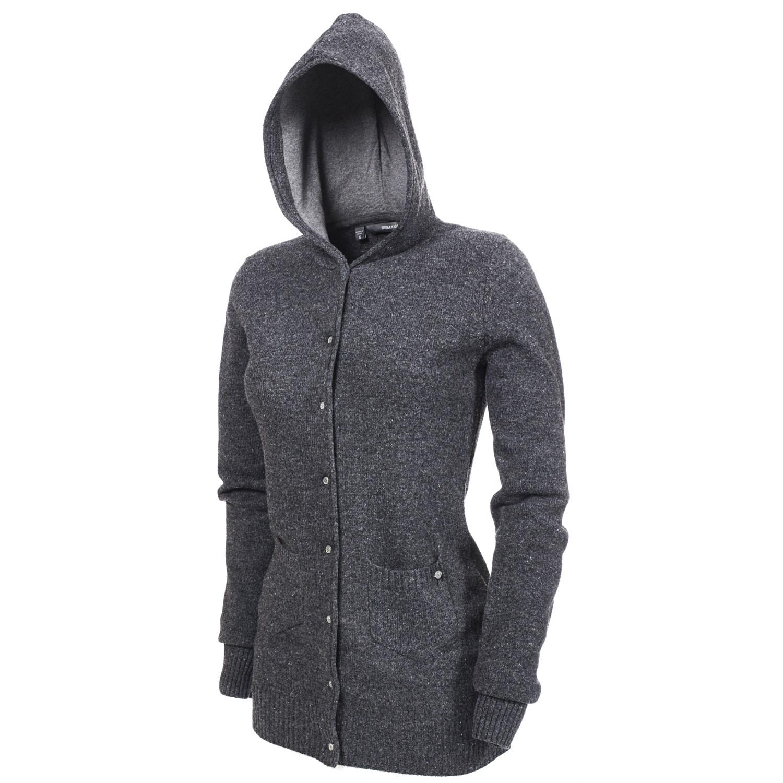 Makia Hooded Button Down Sweater - Women's | evo