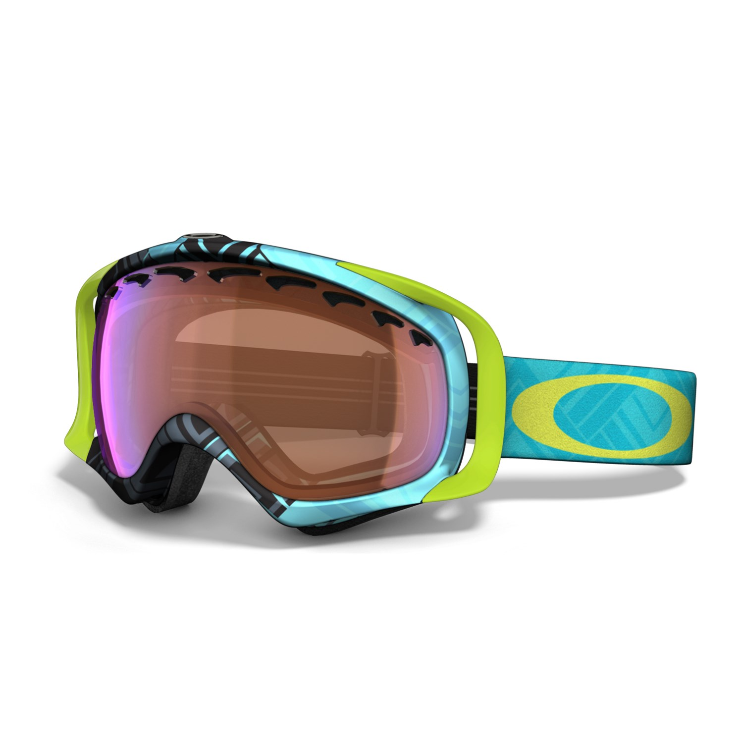 best oakley goggles for snowboarding  Oakley Crowbar Goggles