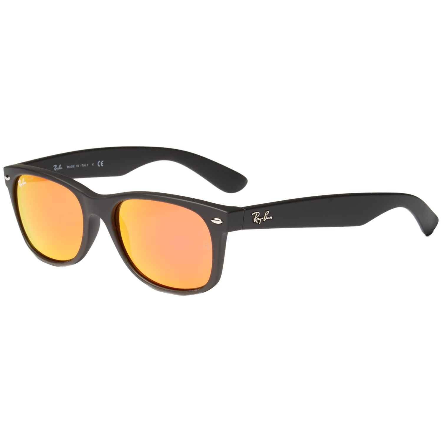 f917ca3b8a Ray Ban New Wayfarer Black Rubber Large 55mm « Heritage Malta