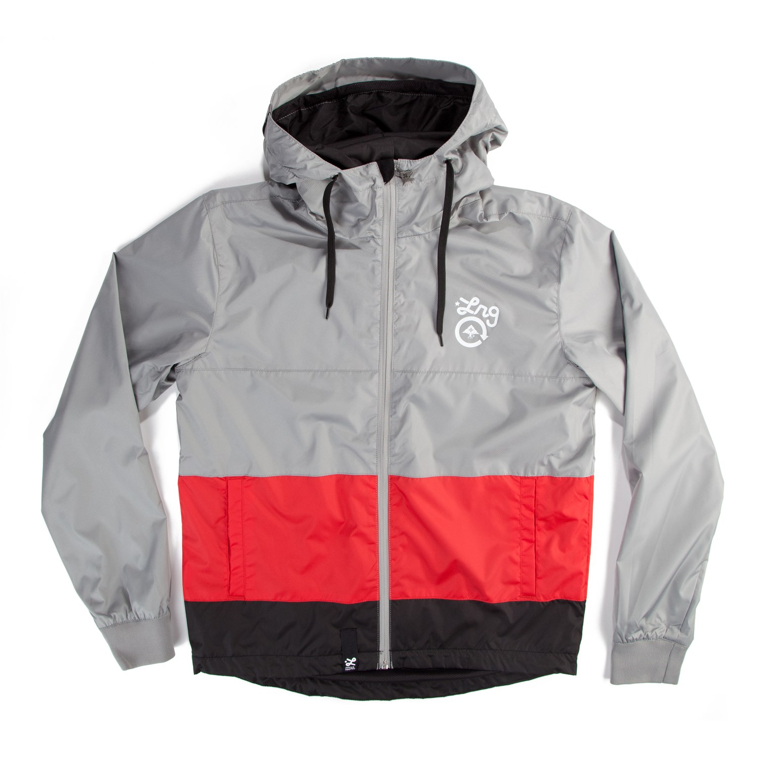 LRG Core Collection Hooded Windbreaker | evo outlet