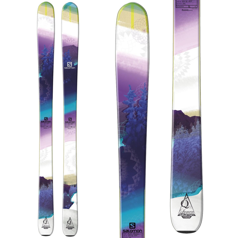 meilleure sélection 4275f 1e920 Salomon Q-96 Lumen Skis - Women's 2014 | evo