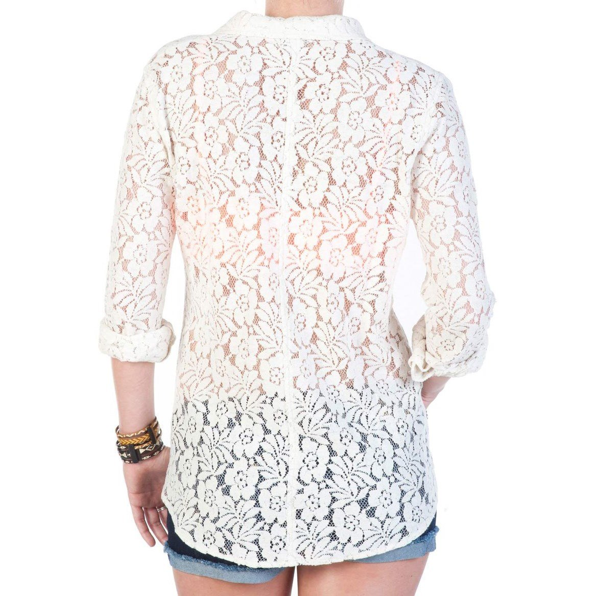 d5915093320 Volcom Not So Classic Lace L S Top - Women s