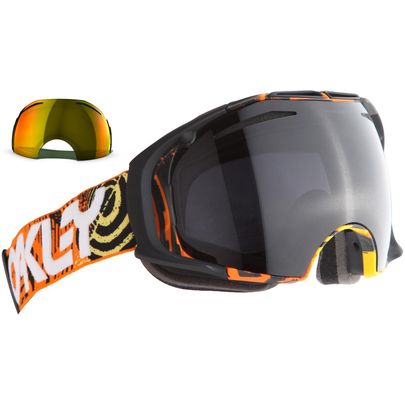 oakley ski lenses  Oakley Factory Pilot Collection Airbrake Goggles
