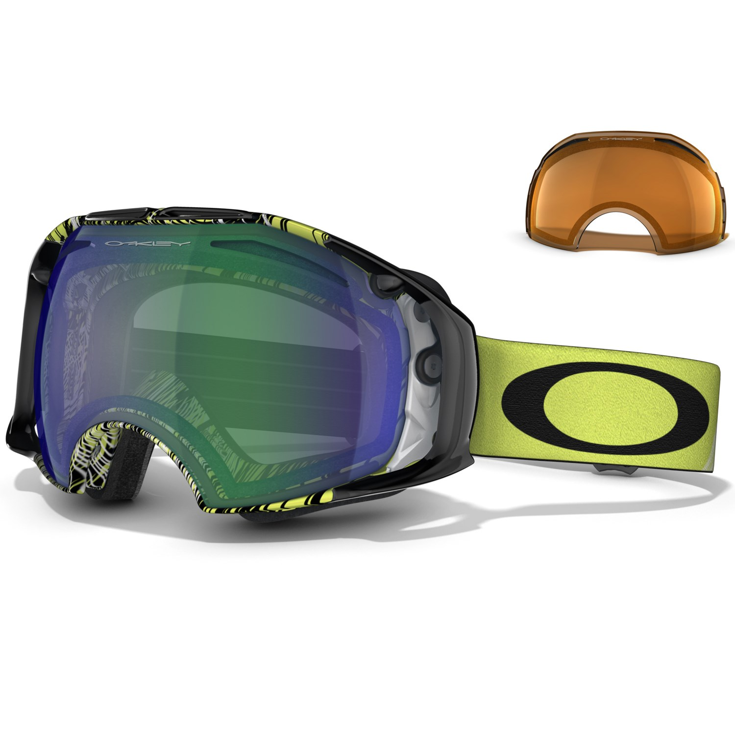 oakley airbrake snow asian fit