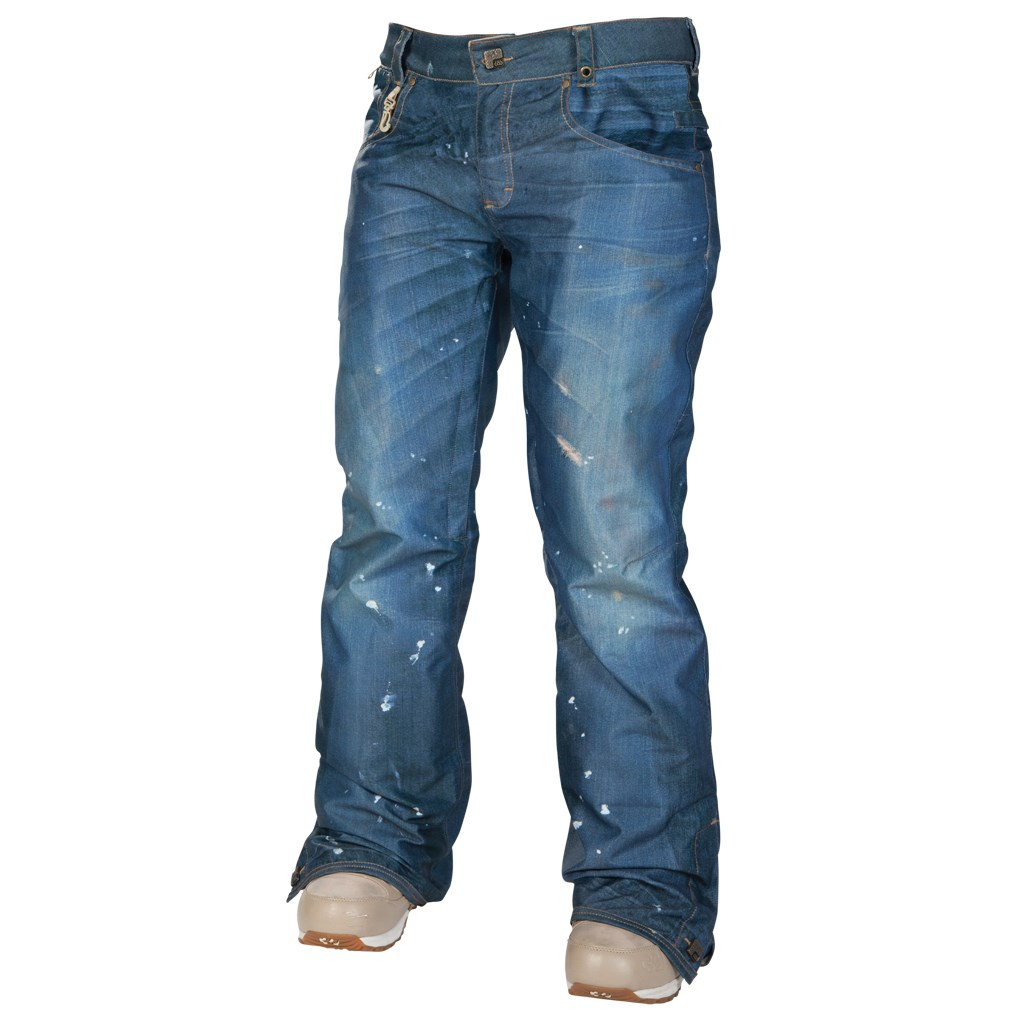 686 Reserved Destructed Denim Insulated Pants