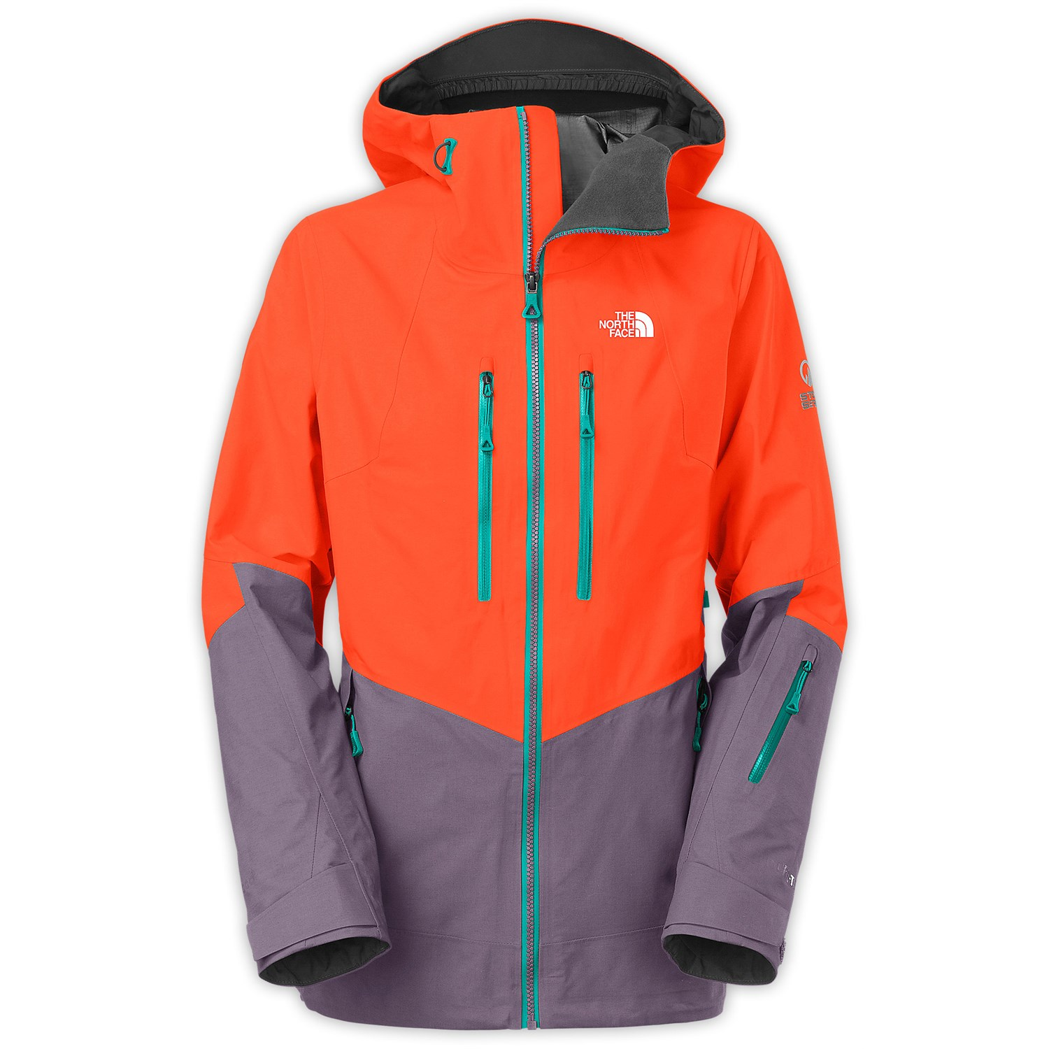 ... italy north face ski jacket womens orange 346ff a9d8b 16a307810