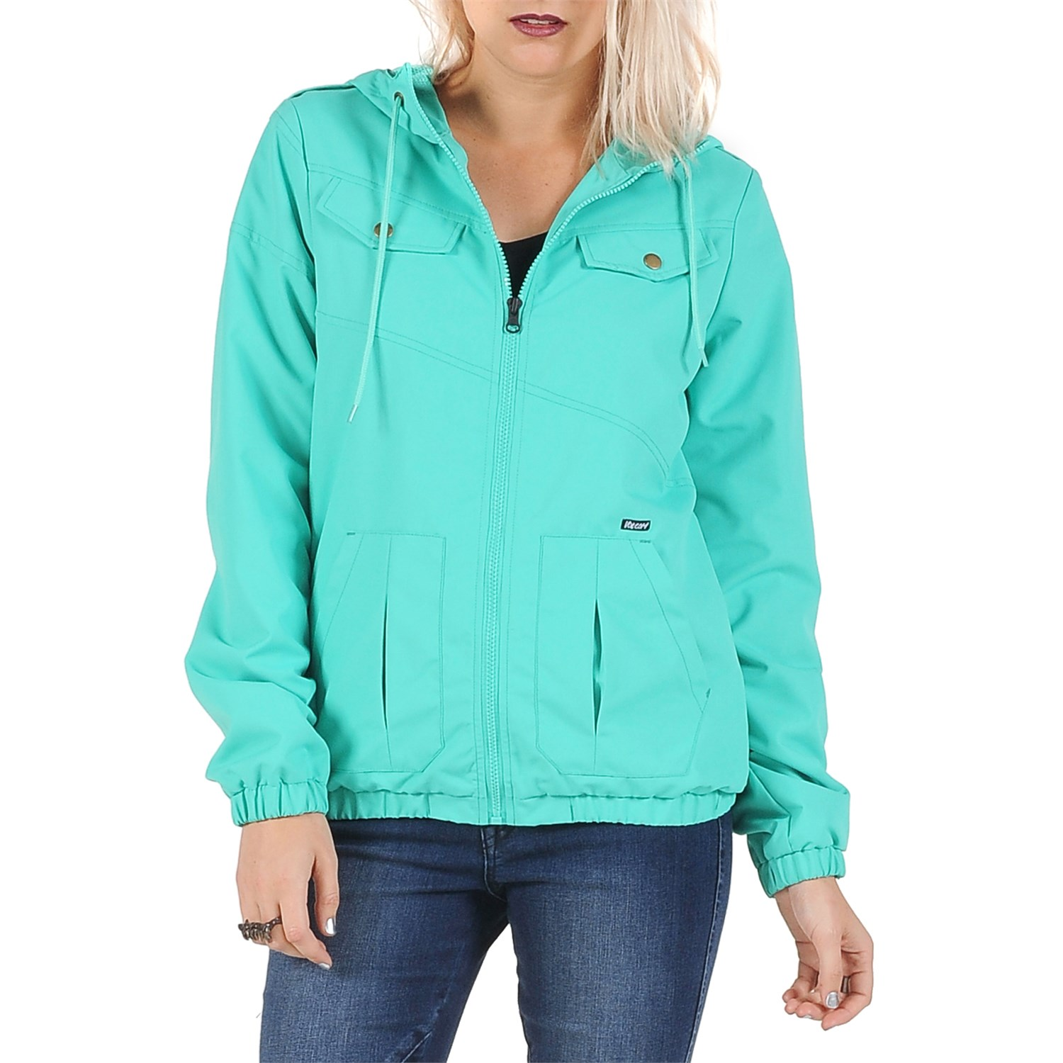 23dd676ee96 Volcom Enemy Lines Windbreaker Jacket - Women s