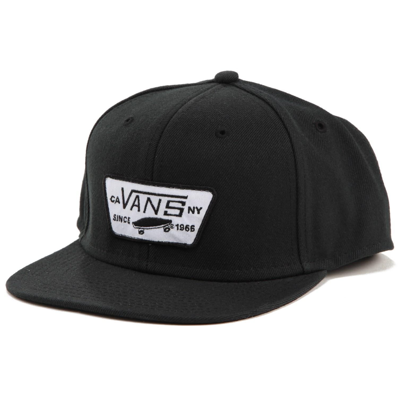 afdcac130b441 Vans Full Patch Snapback Hat