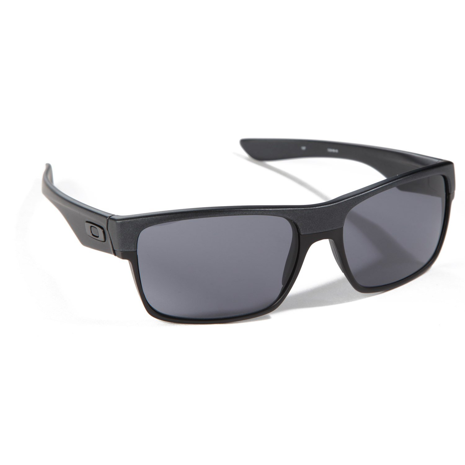 oakley sunglasses sale today only  oakley two face sunglasses steel grey front