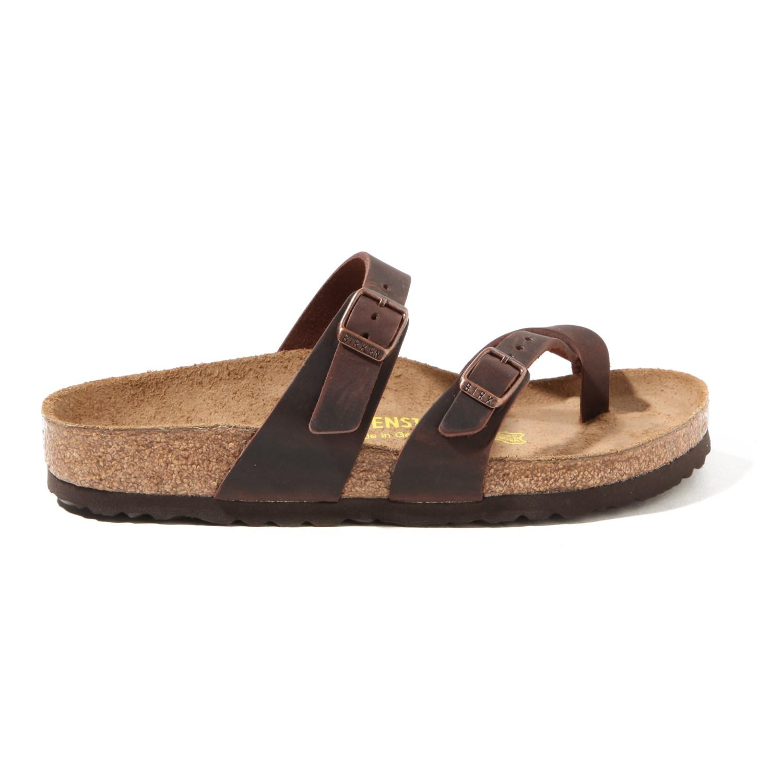 Mayari Sandal Leather Birkenstock Oiled Women'sEvo rCoeWdxB