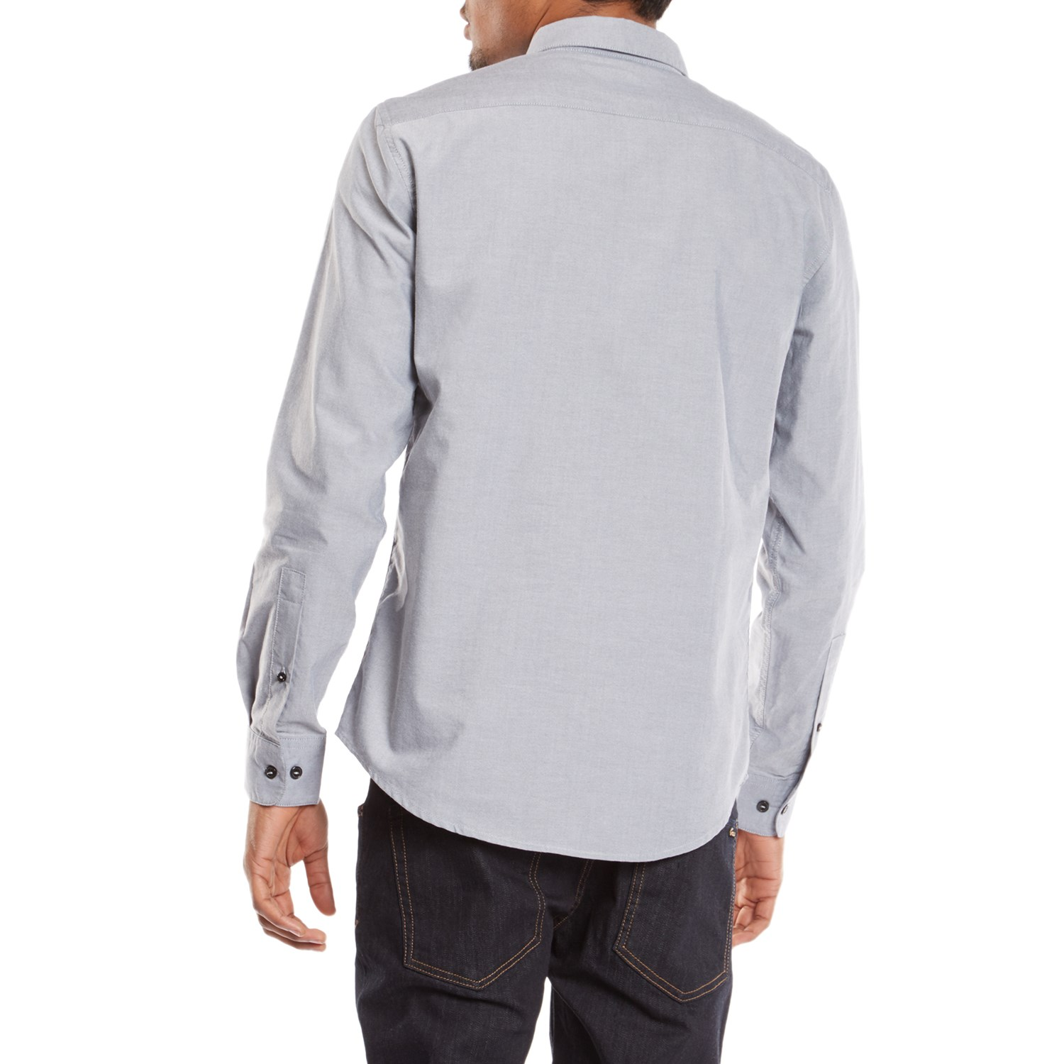 RVCA That'll Do Oxford Long-Sleeve Button-Down Shirt | evo
