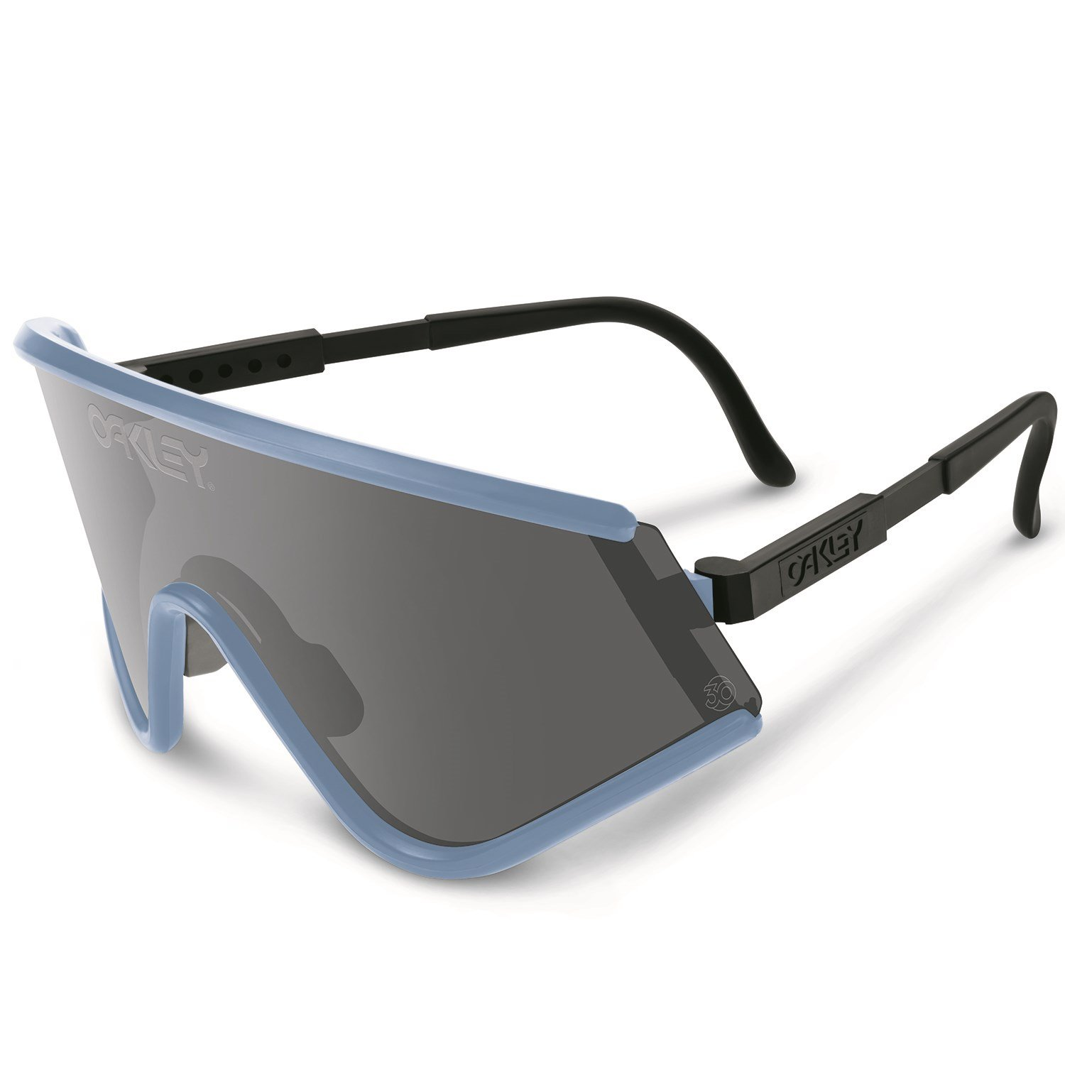 oakley goggle sunglasses  oakley eyeshade sunglasses blue grey