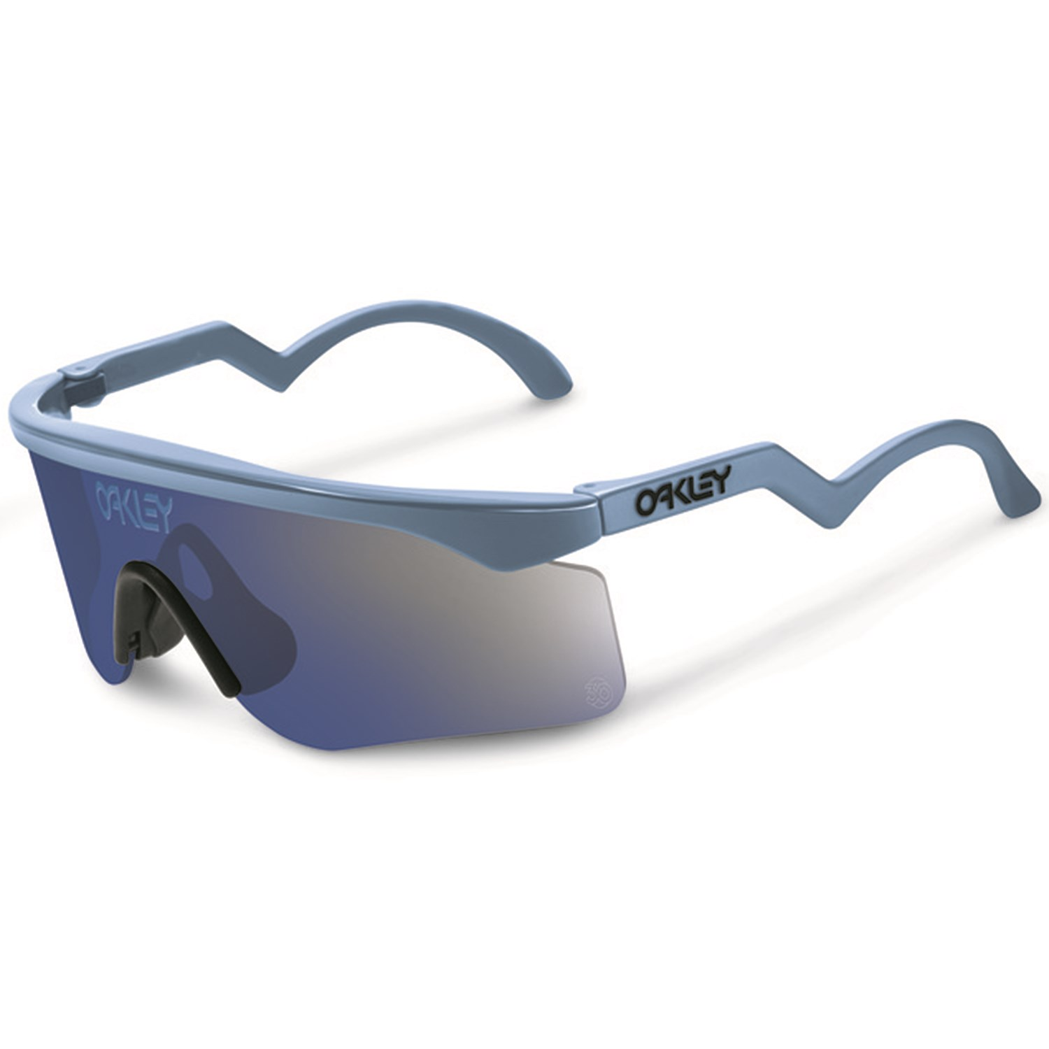 oakley womens razor blade sunglasses  oakley razor blades sunglasses blue ice iridium