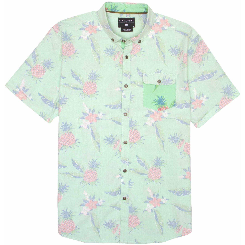 b6f18325db4dd0 Billabong Pineapples Short-Sleeve Button-Down Shirt