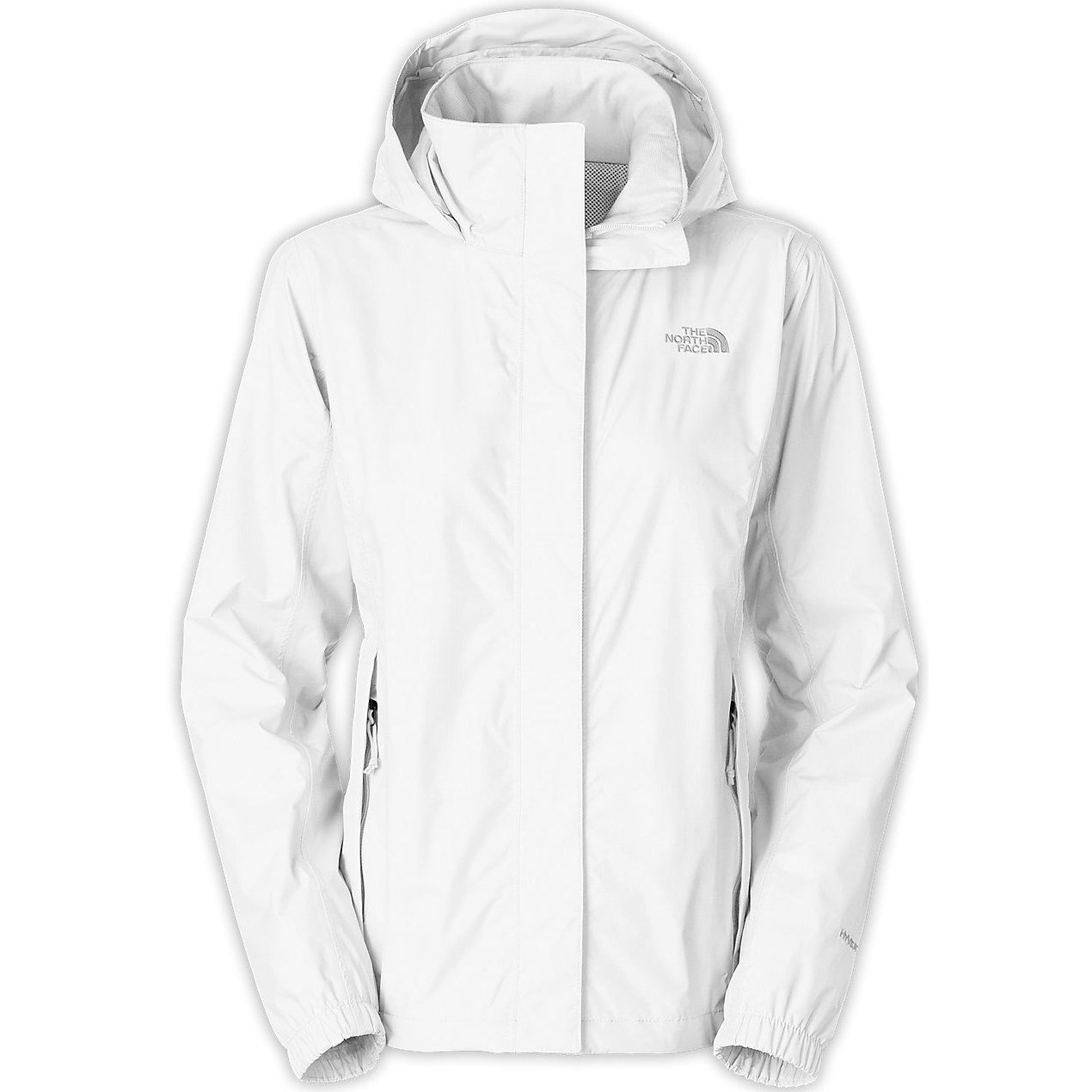 womens white north face jacket