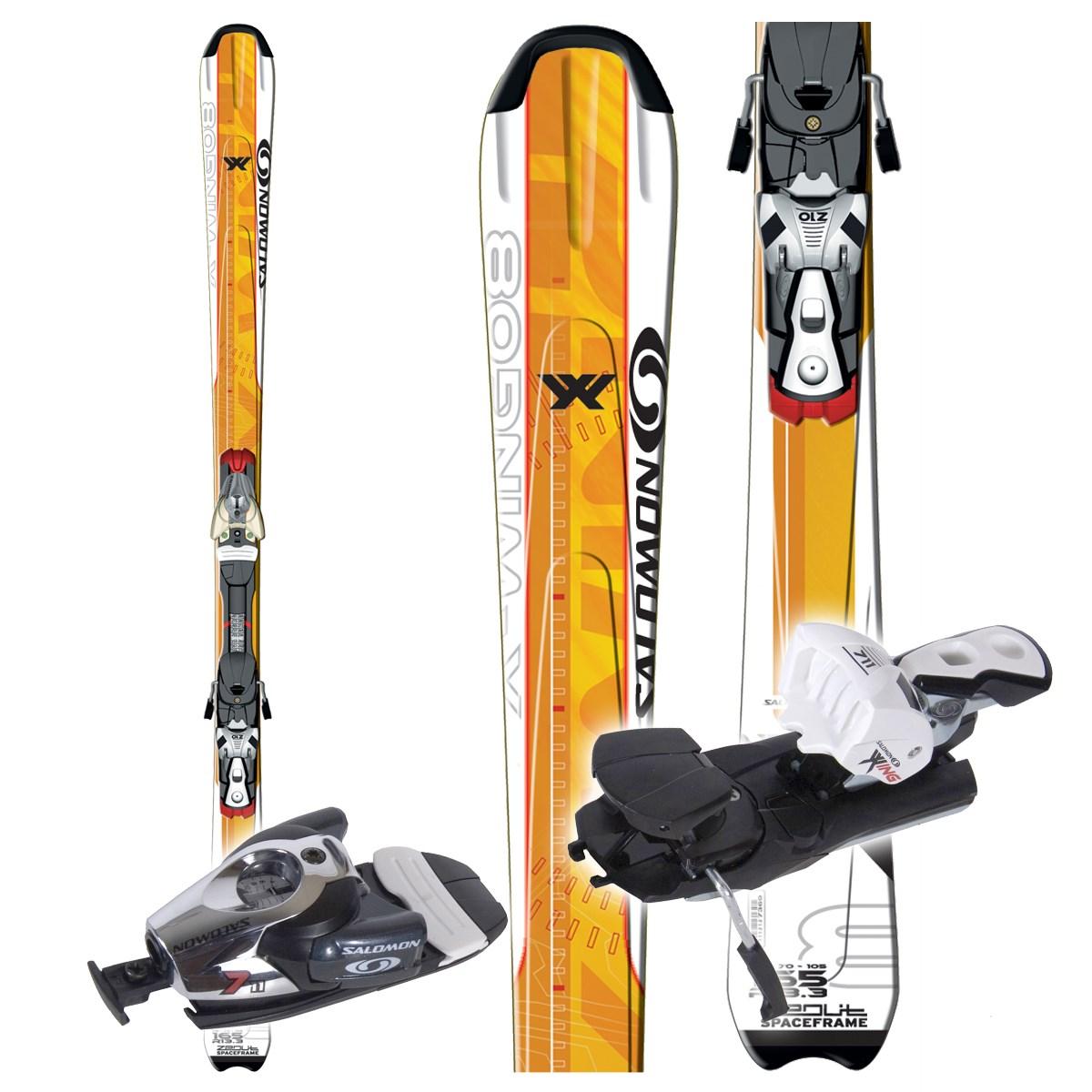 Used Salomon X Wing 500 Skis B