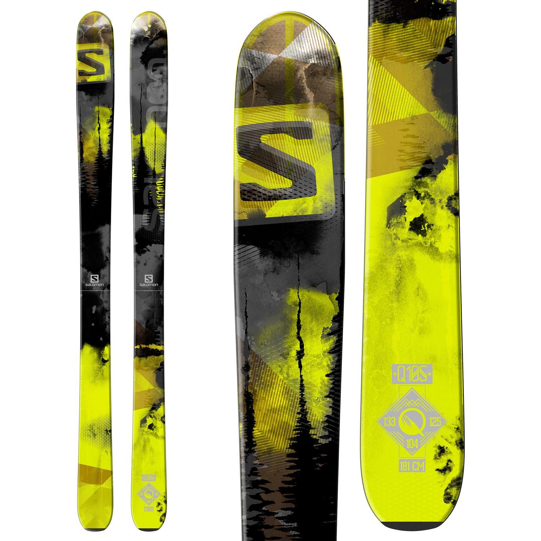 3b501ed7b114 Salomon Q-105 Skis 2015