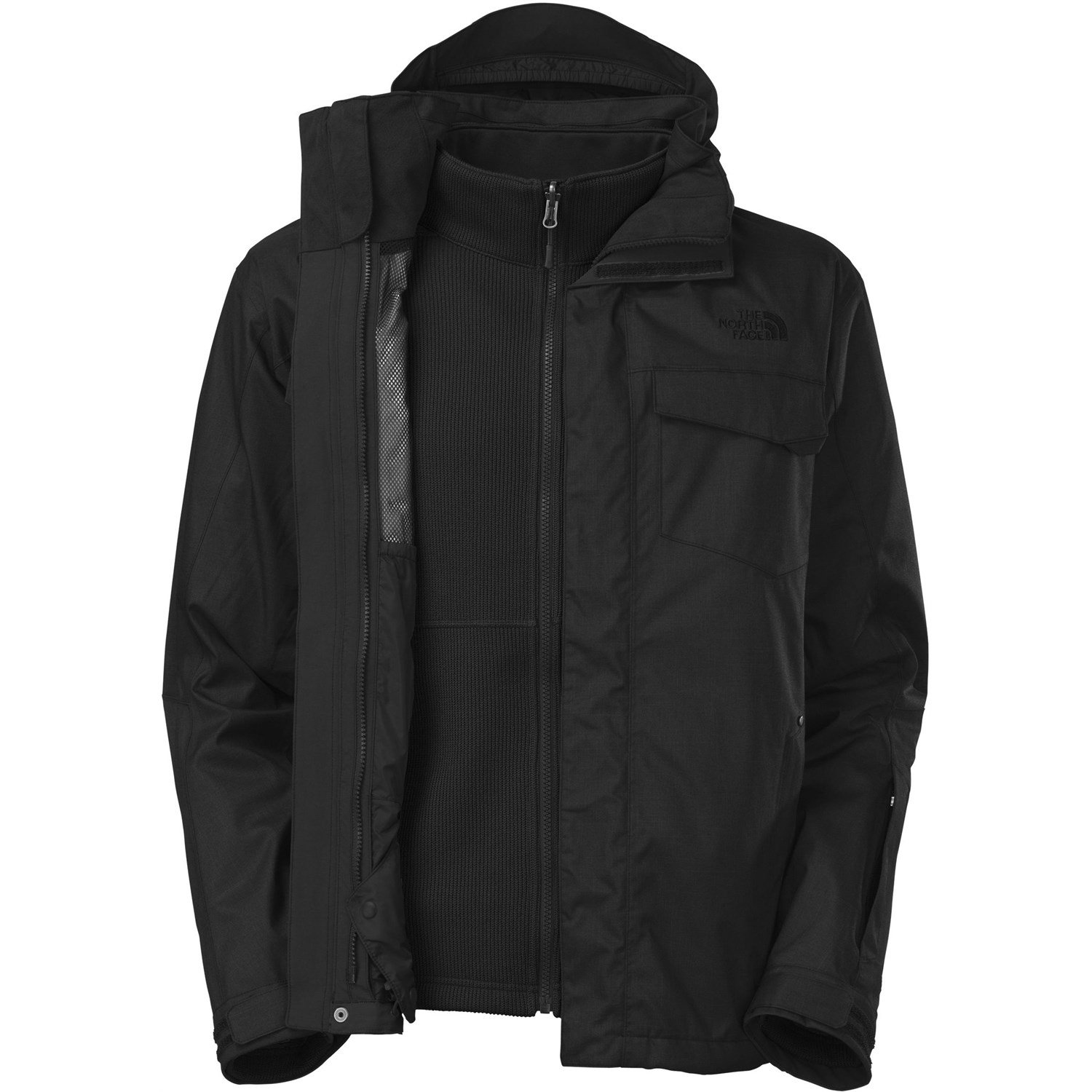 campera the north face triclimate