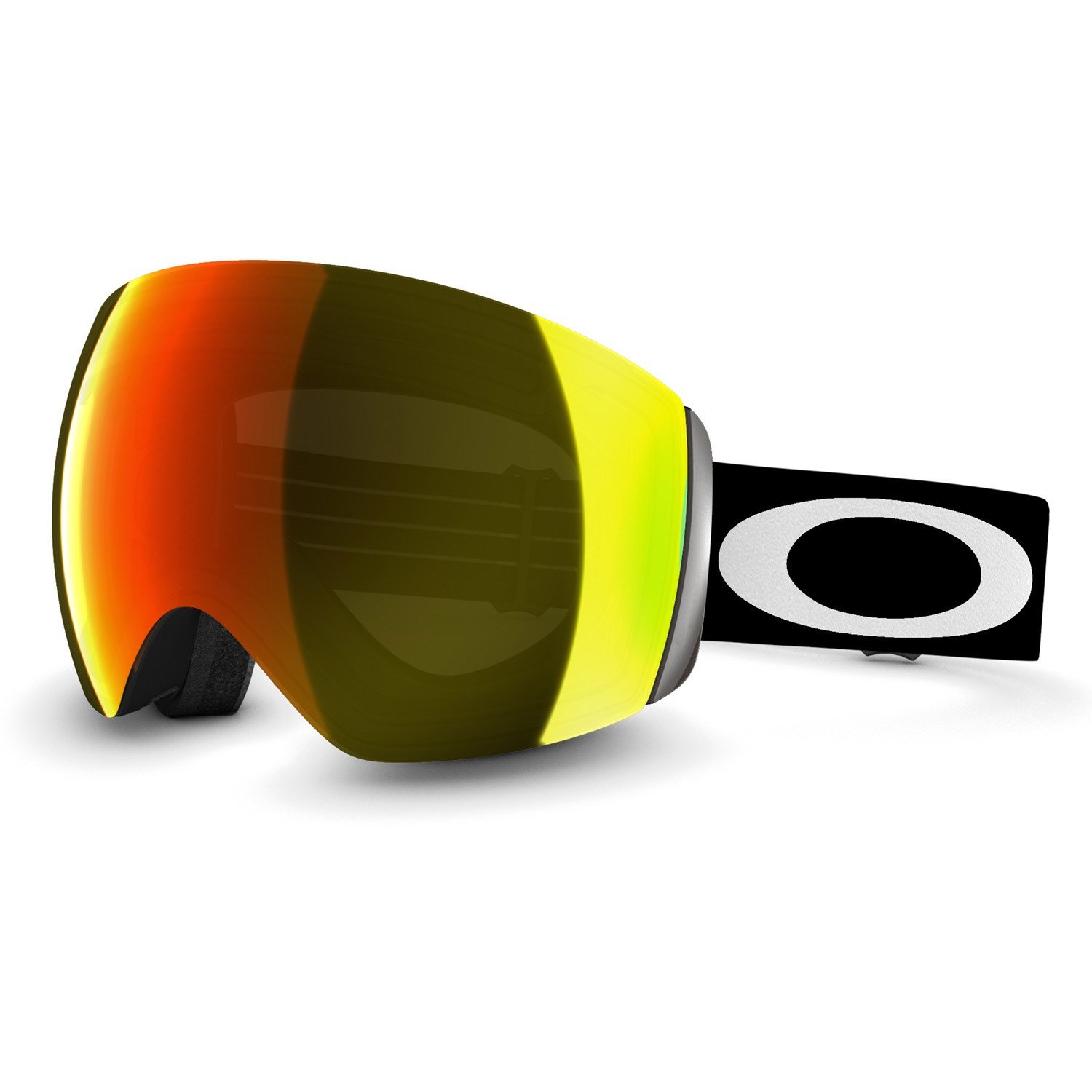 oakley ski goggles  oakley flight deck goggles matte black fire iridium