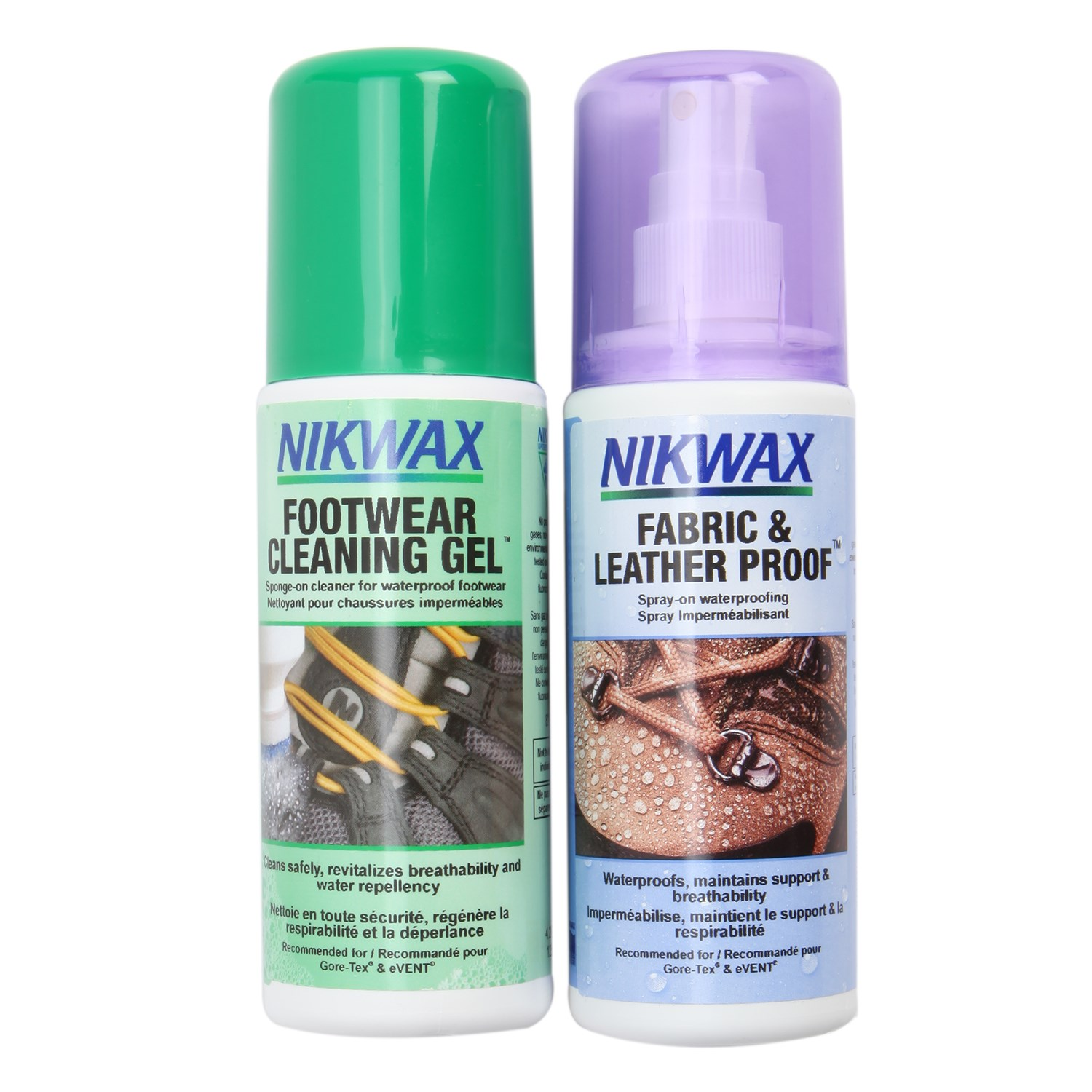 Nikwax Fabric and Leather (Spray On) DuoPack $16.50  sc 1 st  Evo & Nikwax - Waterproofing Cleaning u0026 Conditioning Products