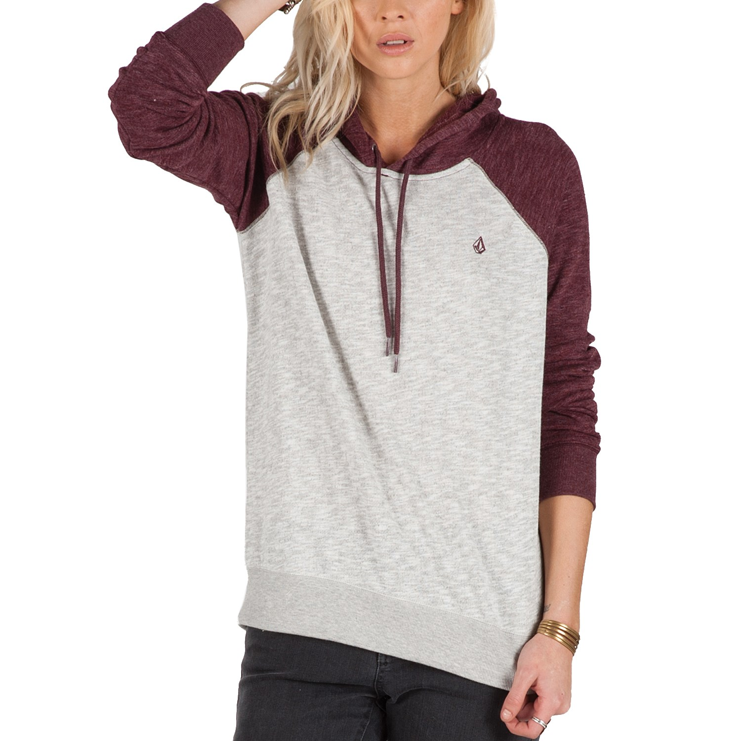 Volcom Lived In Pullover Hoodie - Women's | evo outlet