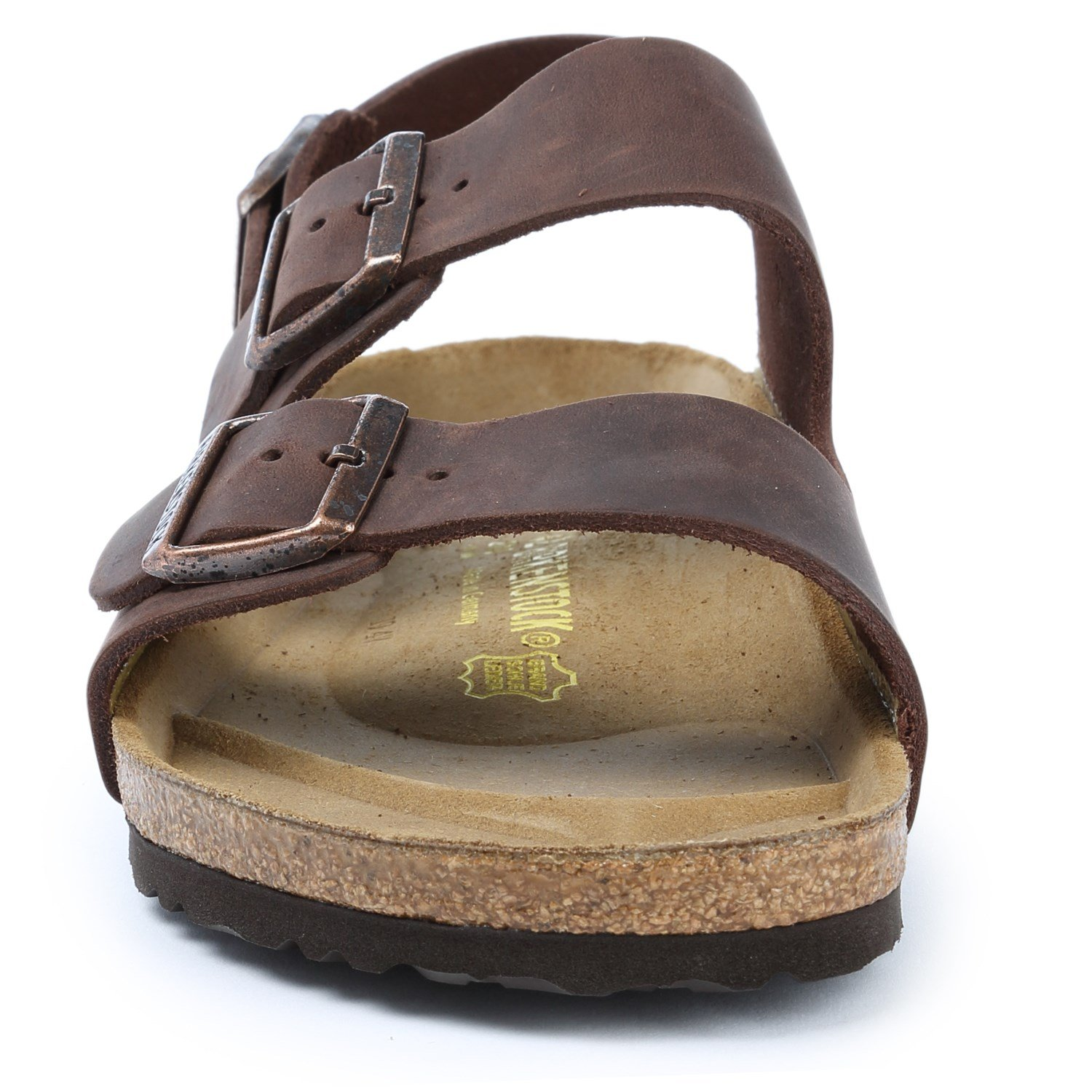 453df53e504e Birkenstock Milano Oiled Leather Soft Footbed Sandals