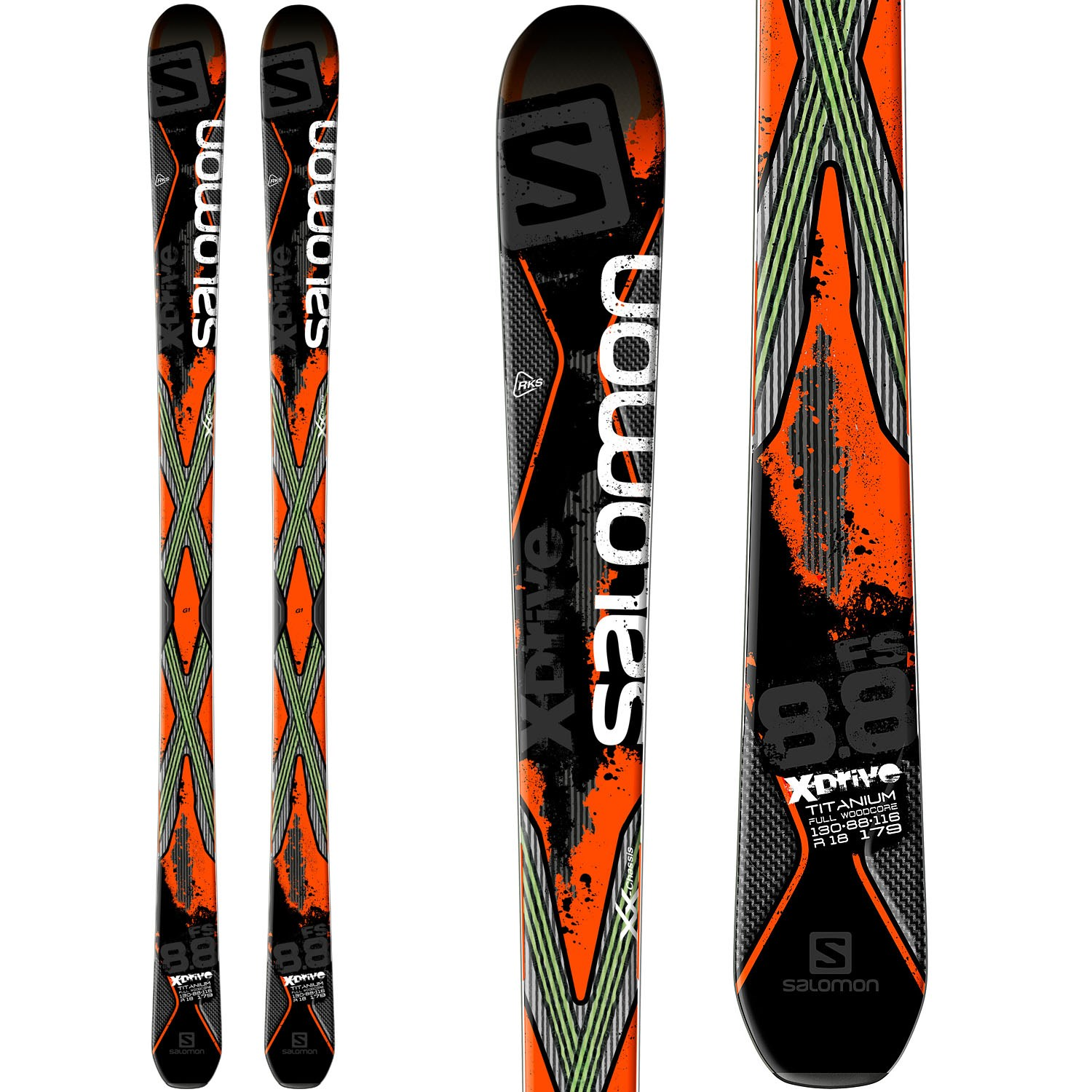 Salomon X Drive 8.8 FS Skis 2015