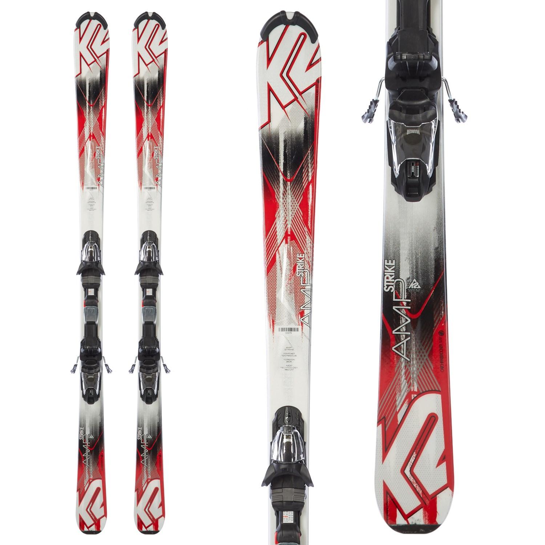 K2 Strike Skis Fastrack3 10 Bindings 2015 Evo