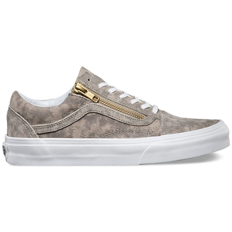vans old skool zip - sneaker - beige
